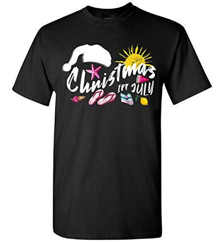 Navidad en julio Santa Summer Party T-Shirt, Hoodie, Personalizado