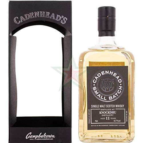 Cadenhead's KNOCKDHU 11 Years Old SMALL BATCH Single Malt Scotch Whisky 2006 54,70% 0,70 Liter