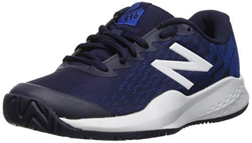 New Balance Kid's 996 V3 Tennis Shoe, Pigment Blue, 4 W US Big Kid