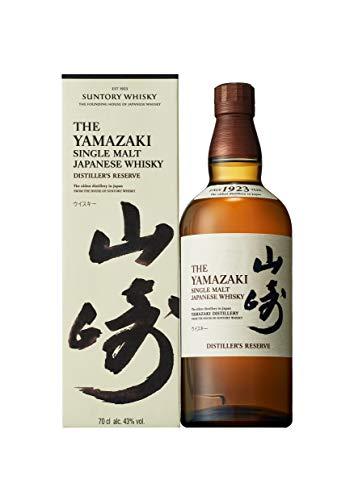 The Yamazaki Distillers Reserve Single Malt Japanese Whisky, 43% - 700 ml