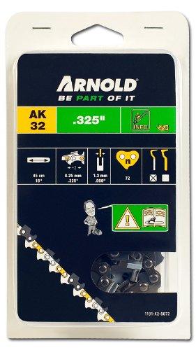 Arnold Sägekette .325 Zoll, 1.3 mm, 72 Treibglieder, 45 cm Schwert 1191-X2-5072