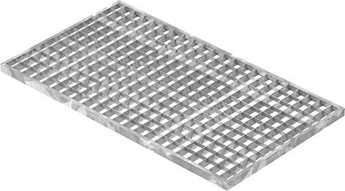Fenau | Gitterrost/Baunorm-Rost Maße: 390 x 690 x 20 mm - MW: 30 mm / 30 mm (Vollbad-Feuerverzinkt) (Passend für Zarge: Fenau 400 x 700 x 23 mm) Industrie-Norm-Rost für Lichtschacht