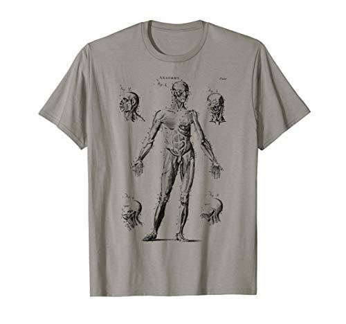 Anatomía del músculo humano anatomía médica Camiseta