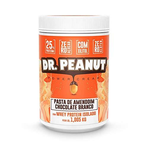 Pasta de Amendoim - 1005G Chocolate Branco com Whey Isolado - Dr. Peanut, Dr. Peanut