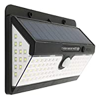 100 LEDソーラーライト太陽光3モード防水モーションセンサー屋外ランプ