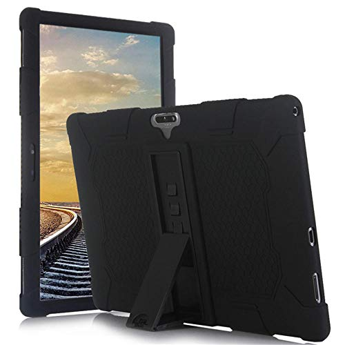 11,6-Zoll-2-in-1-Tablet-Universaletui für Android LTE MTK6796 10-Tablet für Bmxc K20-s Teclast m16-Ständerhalter-Schwarz