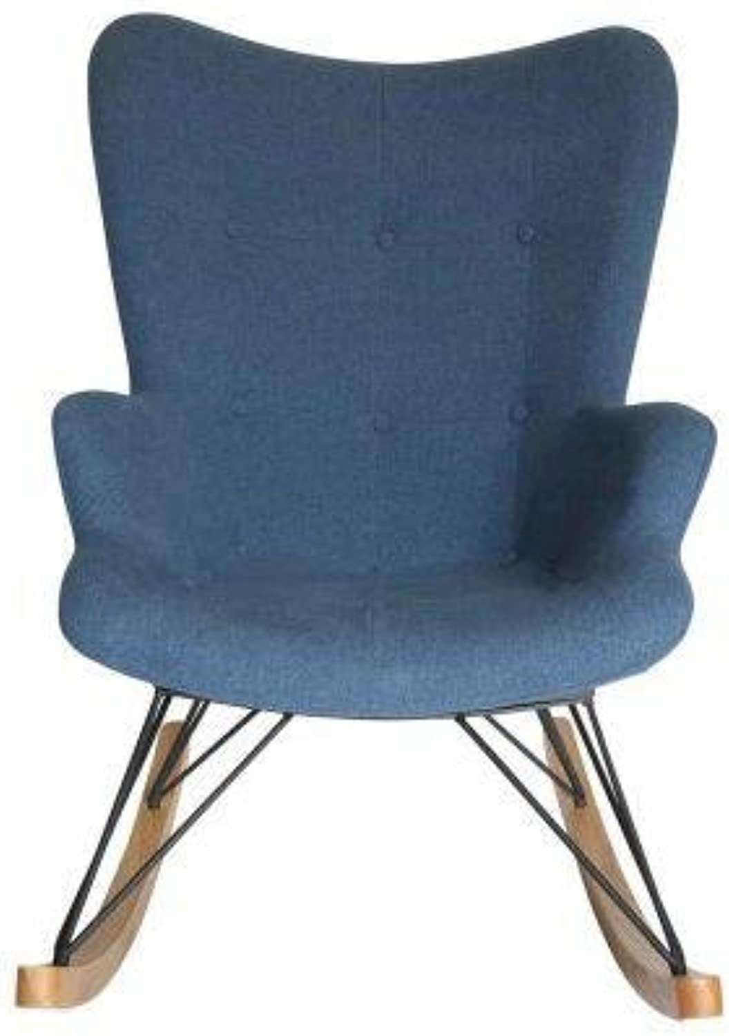 Replica Grant Featherston Lounge Rocking Chair - bluee