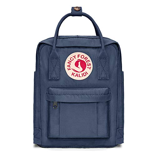 KALIDI Lässiger Rucksack für Damen, iPad Pro Air Mini, klassischer Rucksack, Camping-Rucksack, Reisen, Outdoor, Tagesrucksack, College, Schultasche (Mini 7L, Marineblau)