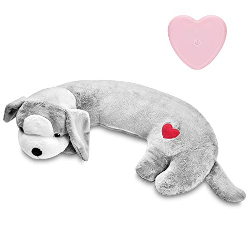 Moropaky Hearbeat Toy for Dog Anxiety Relief Behavioral Training Aid Toy