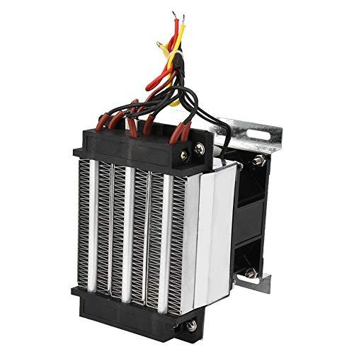 【𝐏𝐚𝐬𝐜𝐮𝐚】 Zouminyy 400W 220V PTC Elemento calefactor PTC aislado Calentador de aire de cerámica