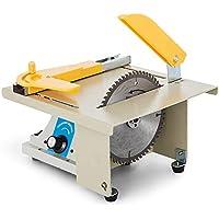 Moracle Hoja de Sierra de Mesa de Precisión Bricolaje Carpintería Corte Pulido Talla Máquina 220V