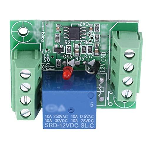 Módulo de relé de un solo canal DC 12V Circuito de biestable Tablero de control del interruptor