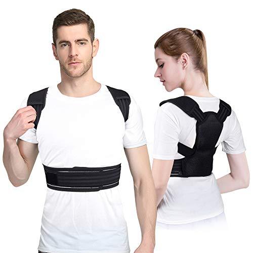 Cinturones de Corrección para Hombres y Mujeres, Cinturones de Corrección de Columna Vertebral, Cinturones de Fijación Anti-Jorobado, Cinturones de Corrección para Adultos