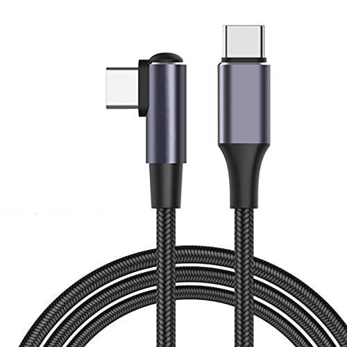 RUMUI Cable de Carga PD 100W Tipo C a Tipo C Cargador rápido 0,5 m 1 m 2 m QC4.0 Cable de transmisión de Datos para teléfonos portátiles