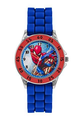 Spiderman Quarz Uhr mit Silicone Armband SPD9048