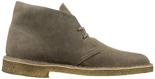 Clarks Mens Desert Boot Taupe Suede - 9