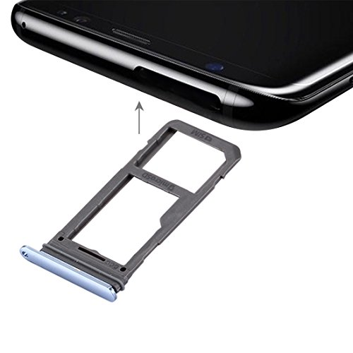 Compatibele Vervangings IPartsBuy for Samsung Galaxy S8 SIM-kaart lade + Micro SD/SIM-kaart lade Accessory (Size : For s8 blue)