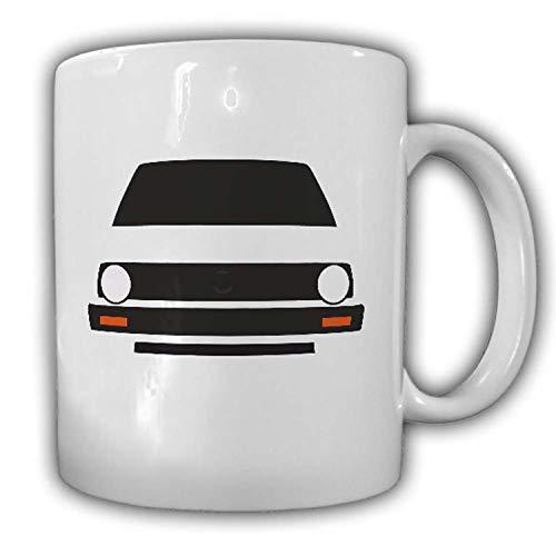 Tasse Golf 2 MK2 Wagen GTI GTD TD Diesel BW Post KFZ Volks-Oldtimer H #24493