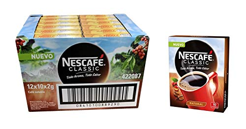 Nescafe Natural 12x10x2g (Caja 120 Sobres)