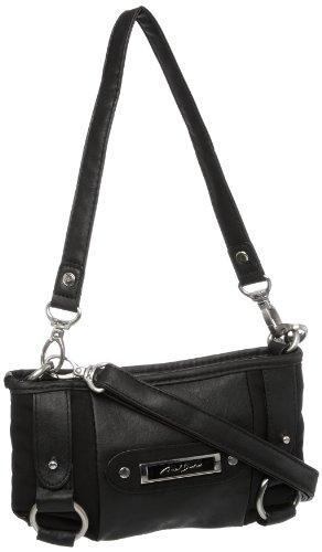 Axel David A42.051400 - Bolso de Hombro para Mujer, Color Negro, Talla S