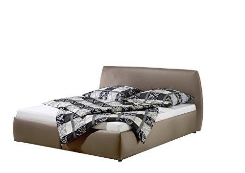 Maintal Betten 234960-4130 Polsterbett Minu 140 x 200 cm, Kunstleder