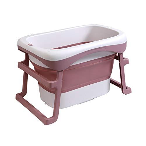 LIZHIQIANG Opvouwbare badkuip, draagbare opvouwbare badkuip, opvouwbare douchebak, kan zich neerzetten, 2 kleuren, 87 x 60 x 57 cm