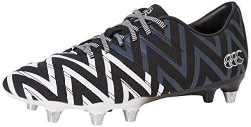 Canterbury of New Zealand Unisex-Erwachsene Phoenix 2.0 Soft Ground Rugbyschuhe, Schwarz (Black Adult Unisex), 51 EU
