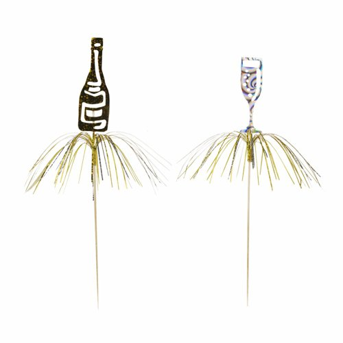 PAPSTAR Partypicker ´Happy New Year´, aus Holz 82822