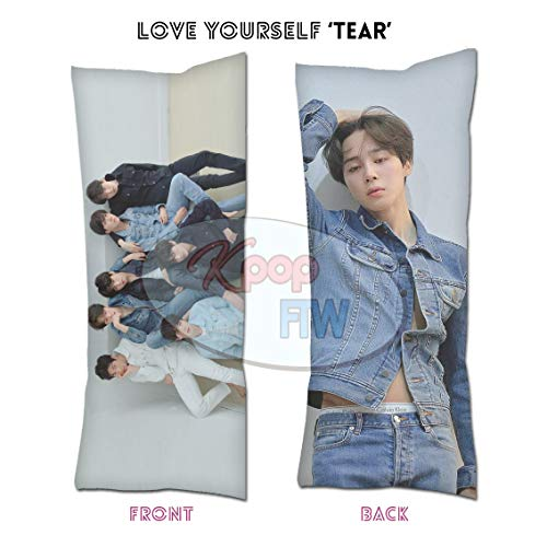 For Sale! Cosplay-FTW BTS Love Yourself 'Tear' Jimin Body Pillow BTS Jimin A Throw Zippered Pillow C...