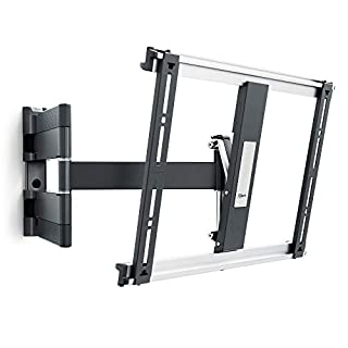 Vogel's THIN 445 Black, Full motion TV wall mount bracket for  26 - 55 Inch TVs, Swivel and tilt 180º, Max 18 kg and up to VESA 400x400 (B06XWBSWC7) | Amazon price tracker / tracking, Amazon price history charts, Amazon price watches, Amazon price drop alerts