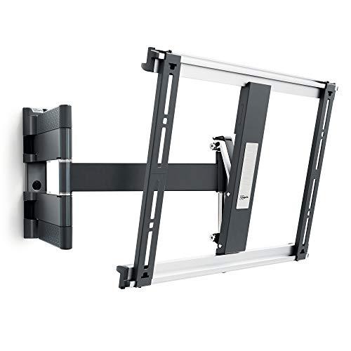 Vogel's THIN 445 TV-Wandhalterung für 66-140 cm (26-55 Zoll) Fernseher, schwenkbar und neigbar, max. 18 kg, Vesa max. 400 x 400, Schwarz