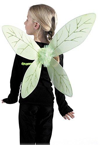Party Pro Costumes Feenflügel Feekostüm-Accessoire für Kinder grün Einheitsgröße