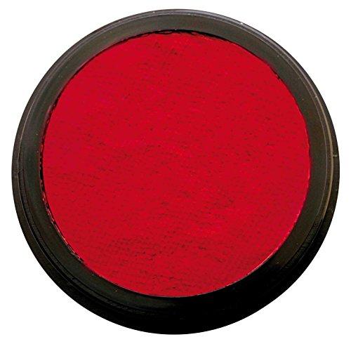 Eulenspiegel 185766 - Profi-Aqua Schminke in der Farbe Rubinrot, 20 ml
