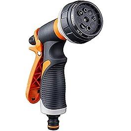 TUKNON Pistolet d'arrosage, Pistolet Arrosoir, 8 Modes d'arrosage Multifonctionnel Pulvérisateur de Jardin, Comfort…