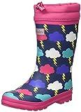 Hatley Rain Boots, Botas de Lluvia, Lightening Clouds, 36 EU