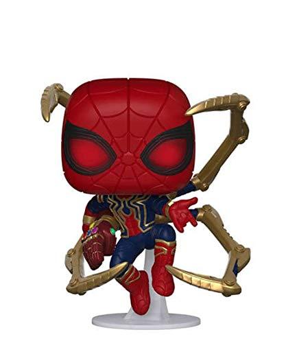 Popsplanet Funko Pop! Marvel – Los Vengadores: Endgame – Iron Spider (with Nano Gauntlet) #574 Vinyl Figure 10 cm Released 2019