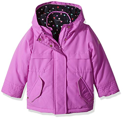 Osh Kosh Baby Girls 4 in 1 Heavyweight Systems Jacket, Purple, 18M