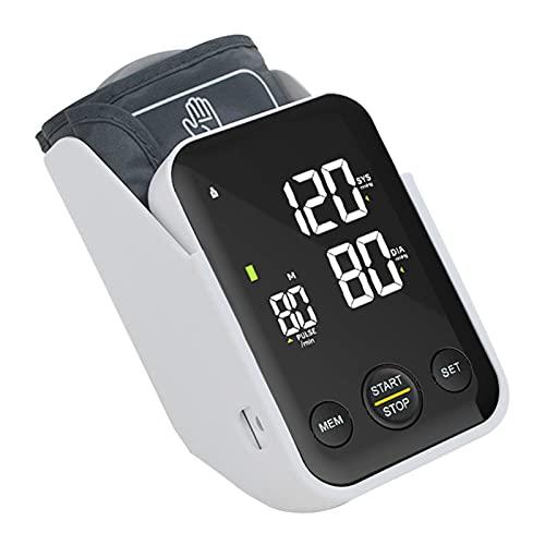 RONGXI Haushaltsgesundheitsmonitore, Blutdruckmonitor mit Aufbewahrungsbox, Blutdruckmessgerät Oberarmmaschine, digital BP. Machine Backlit-Bildschirm-Pulsfrequenzüberwachung für den Heimgebrauch