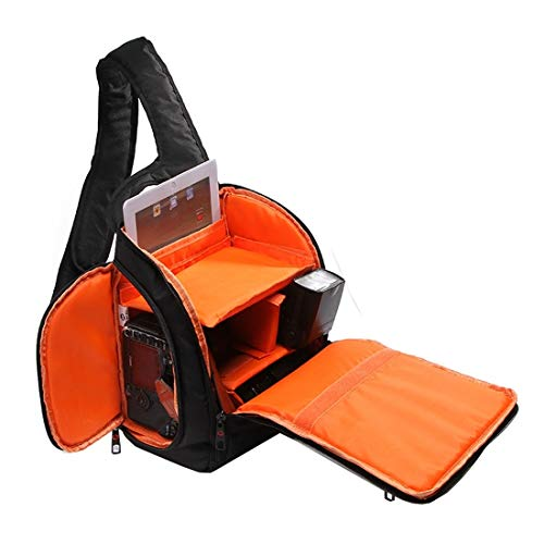 Camera-accessoires DL-B011 Portable Scratch-proof Outdoor Sport Sling schoudertas Chest Pack Micro Single Camera Bag Phone Bag for GoPro, SJCAM, Nikon, Canon, Xiaomi Xiaoyi YI, Apple, Samsung, Huawei,