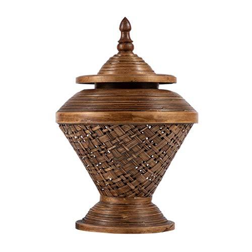 zlw-shop lámpara de Noche Lámpara de Mesa de bambú Creativa Salón Dormitorio Dormitorio de bambú Lámpara de Noche Iluminación Creativa Luz de Escritorio