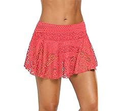 Ocean Plus Mujer Elegante Falda de Baño de Ganchillo con Falda ...