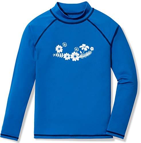 TSLA Camiseta de natación con protección solar UV UPF 50+ para niño,...