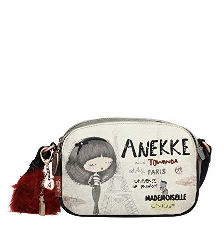 Bandolera Anekke Couture con dos compartimentos (20.5x8x14.5 cm)