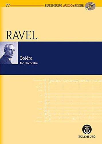 Boléro: Orchester. Studienpartitur + CD. (Eulenburg Audio+Score)