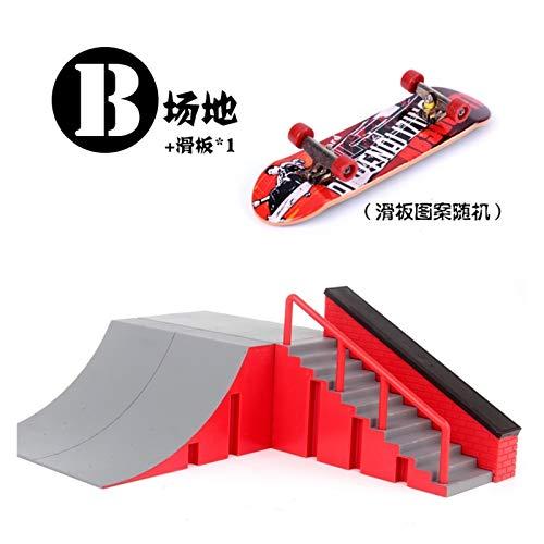 Youpin Tabla de skate de dedo Mini Skatepark, rampa profesional de dedo...