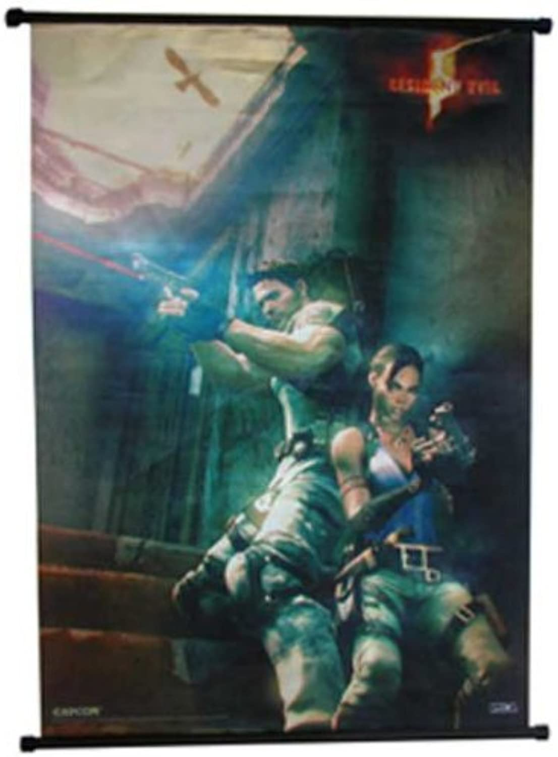 Resident Evil 5 Wall Scroll (Up Against the Wall)