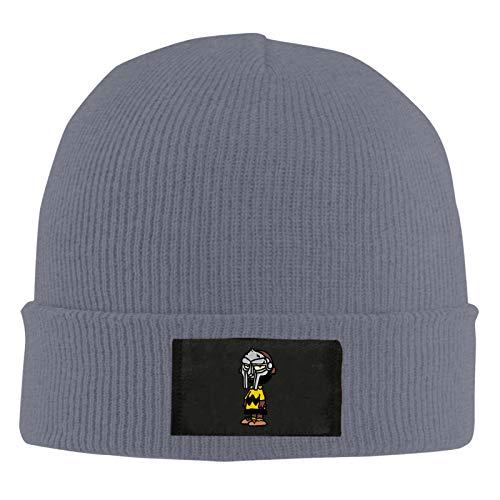 RNFNRW DEW Charlie Brown Mf Doom Man's Womans Customization Fashion Knitted Hat