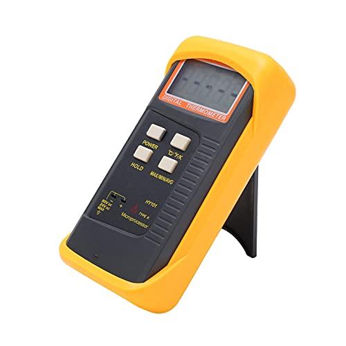 Termómetro, Medidor De Temperatura ABS Termopar Tipo K Con Funda Protectora A Prueba De Golpes Para Fábrica Para Exteriores