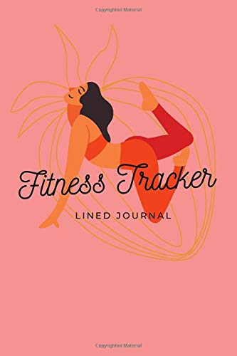 Fitness Tracker habit tracking journal for girls and young women | 6x9 inches | 110 pages: Diary and notebook for thoughts and ideas
