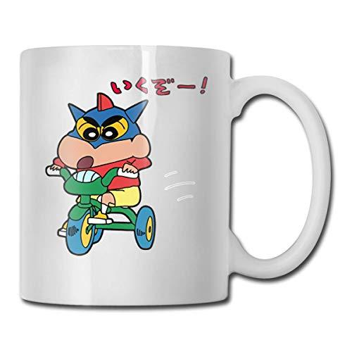 Taza de café divertida de 11 onzas, Crayon Poeted Shin Chan. Tazas, cumpleaños único para mujeres, hombres